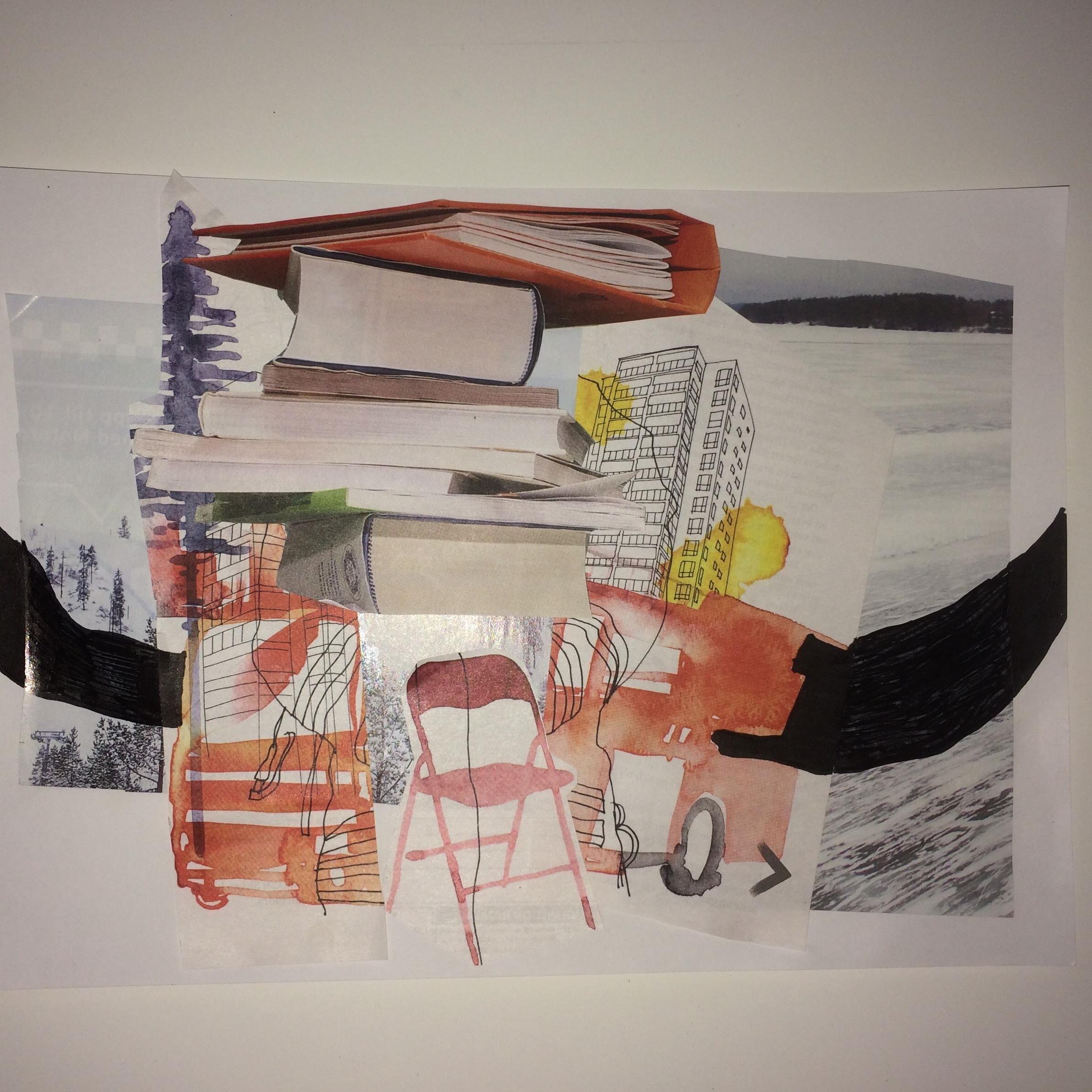 Utställning: Collage & Måleri