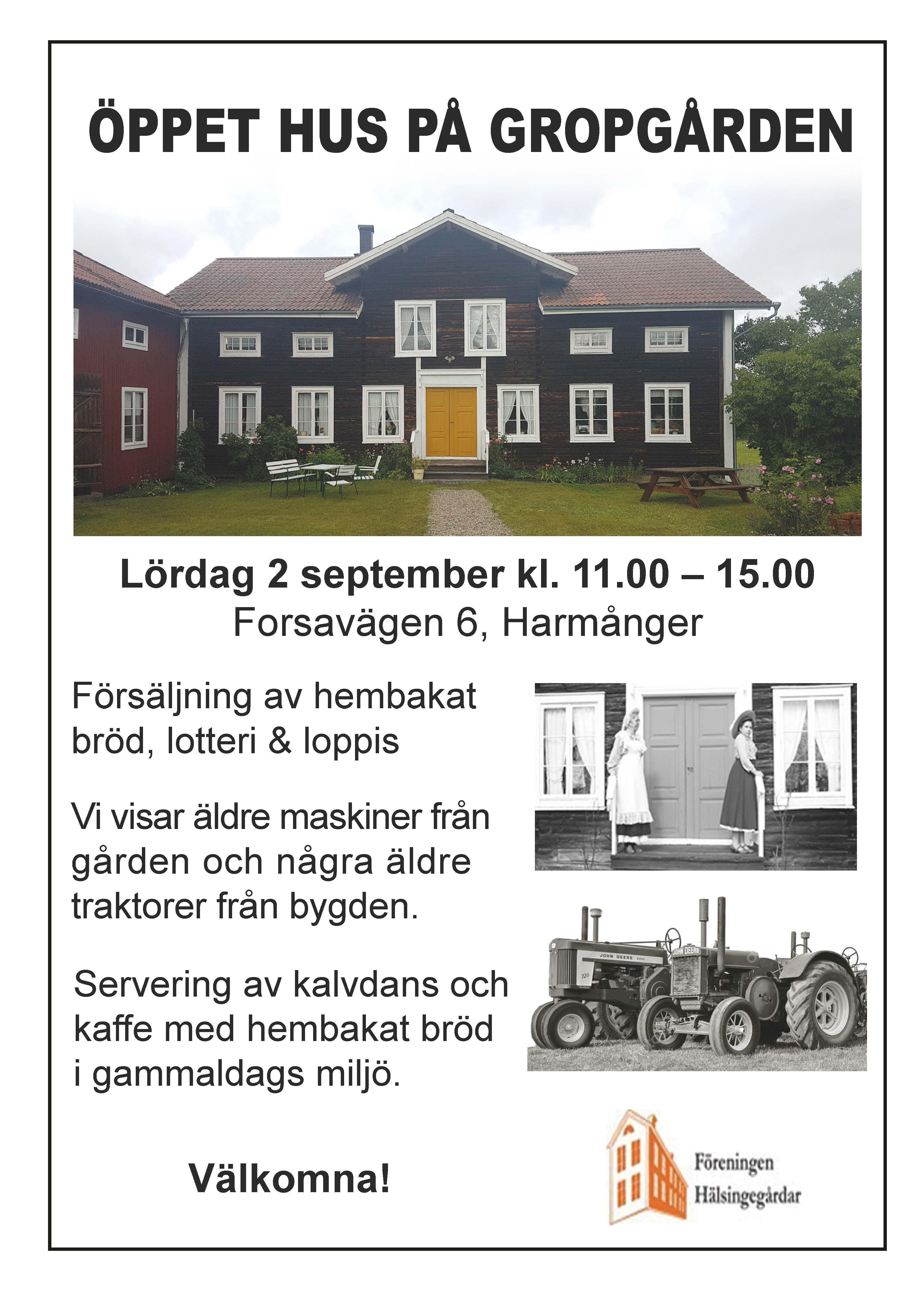 Öppet hus på Gropgården