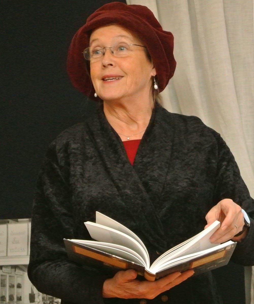 Författarbesök med Eva Kaijser