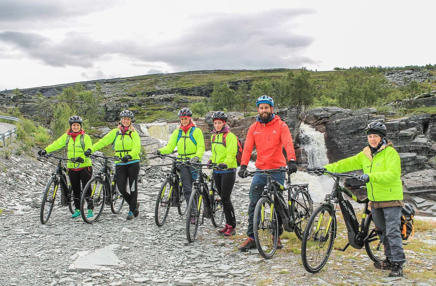GUIDED E-BIKE TRIP IN THE MOUNTAINS / NORD EKSPEDISJON