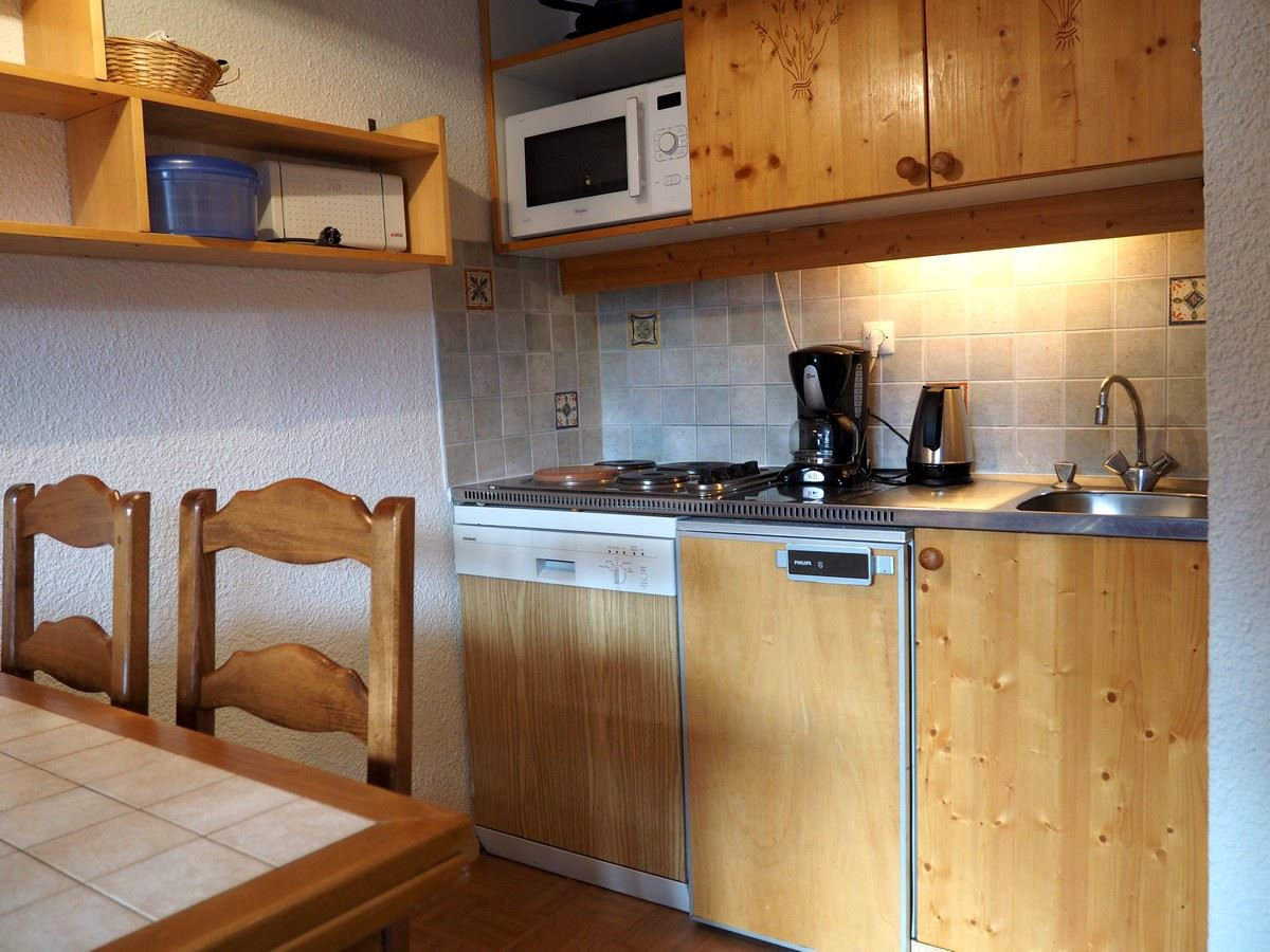 2 Room 4 Pers ski-in-ski-out / Boedette D130
