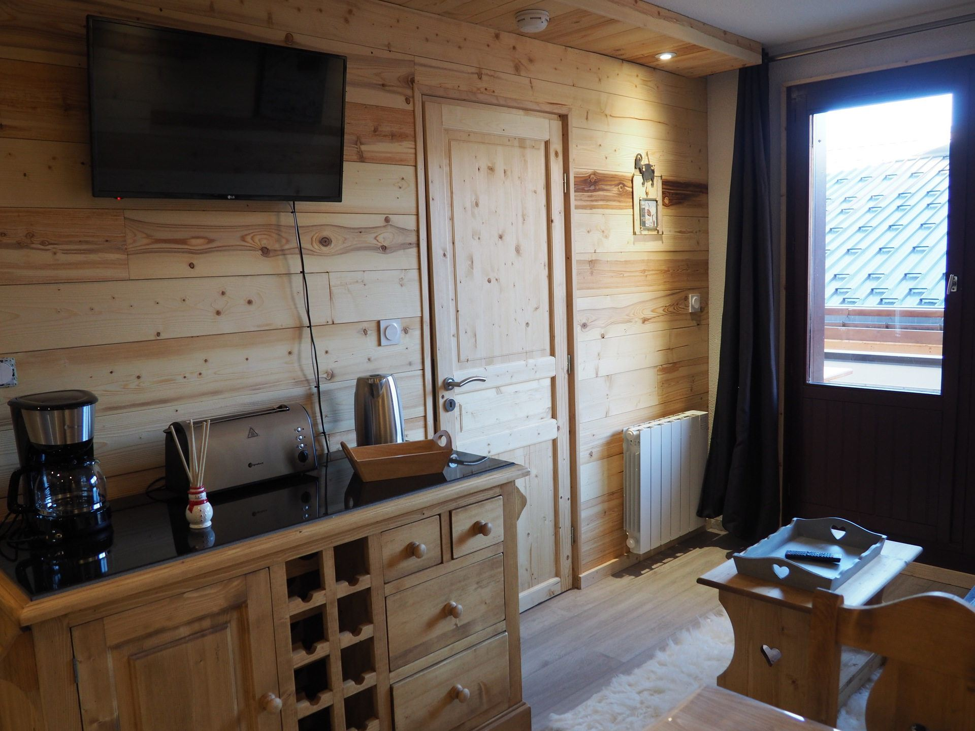 2 Rooms 4 Pers ski-in-ski-out / OREE DES PISTES 18