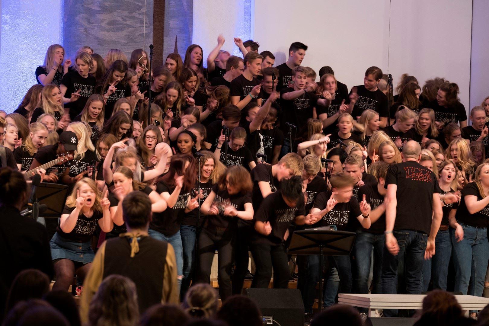 Gospelkonsert med ungdomskören Livslust