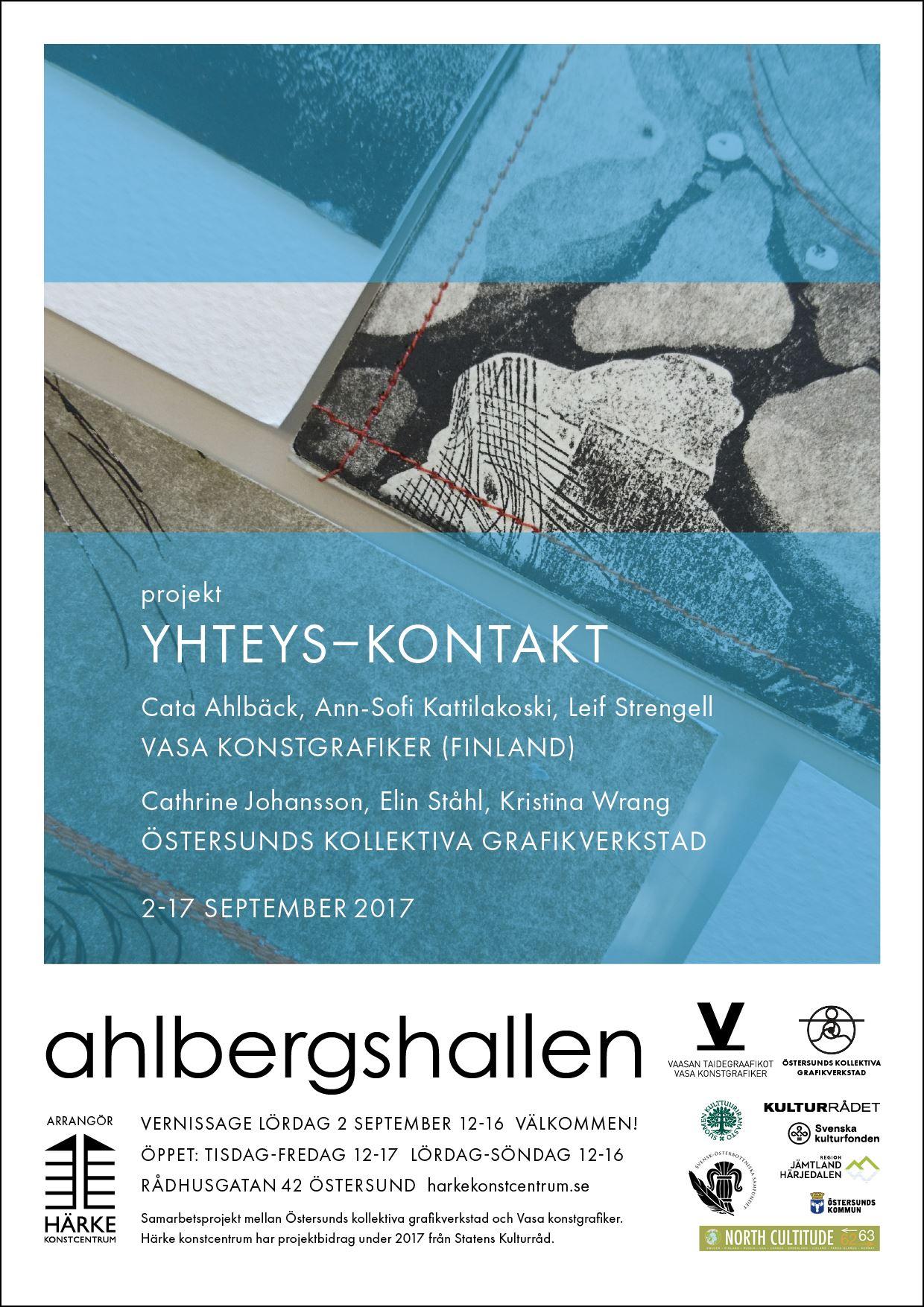 Samarbete mellan Vasa och Östersund - konstutställning