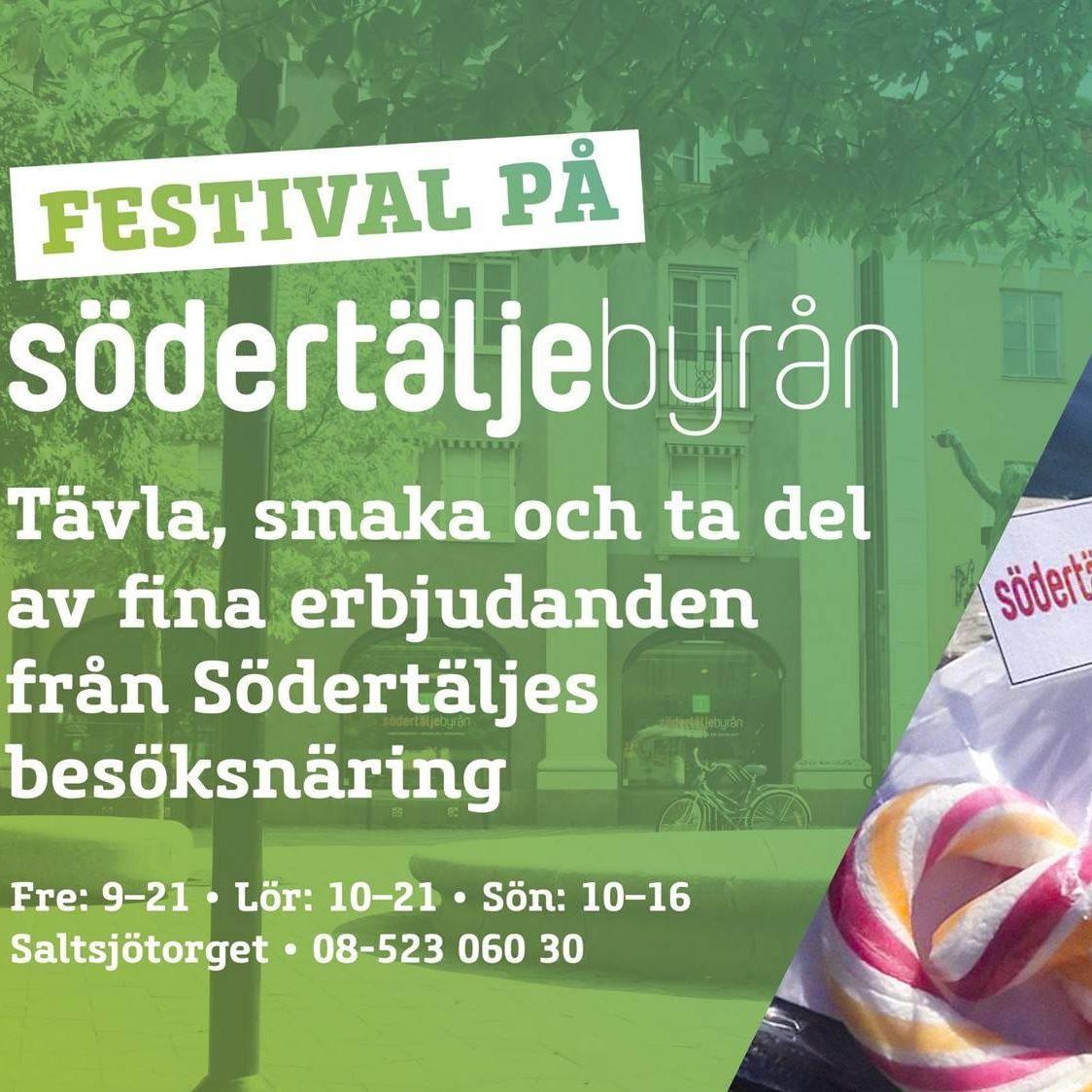 Festival på Södertäljebyrån