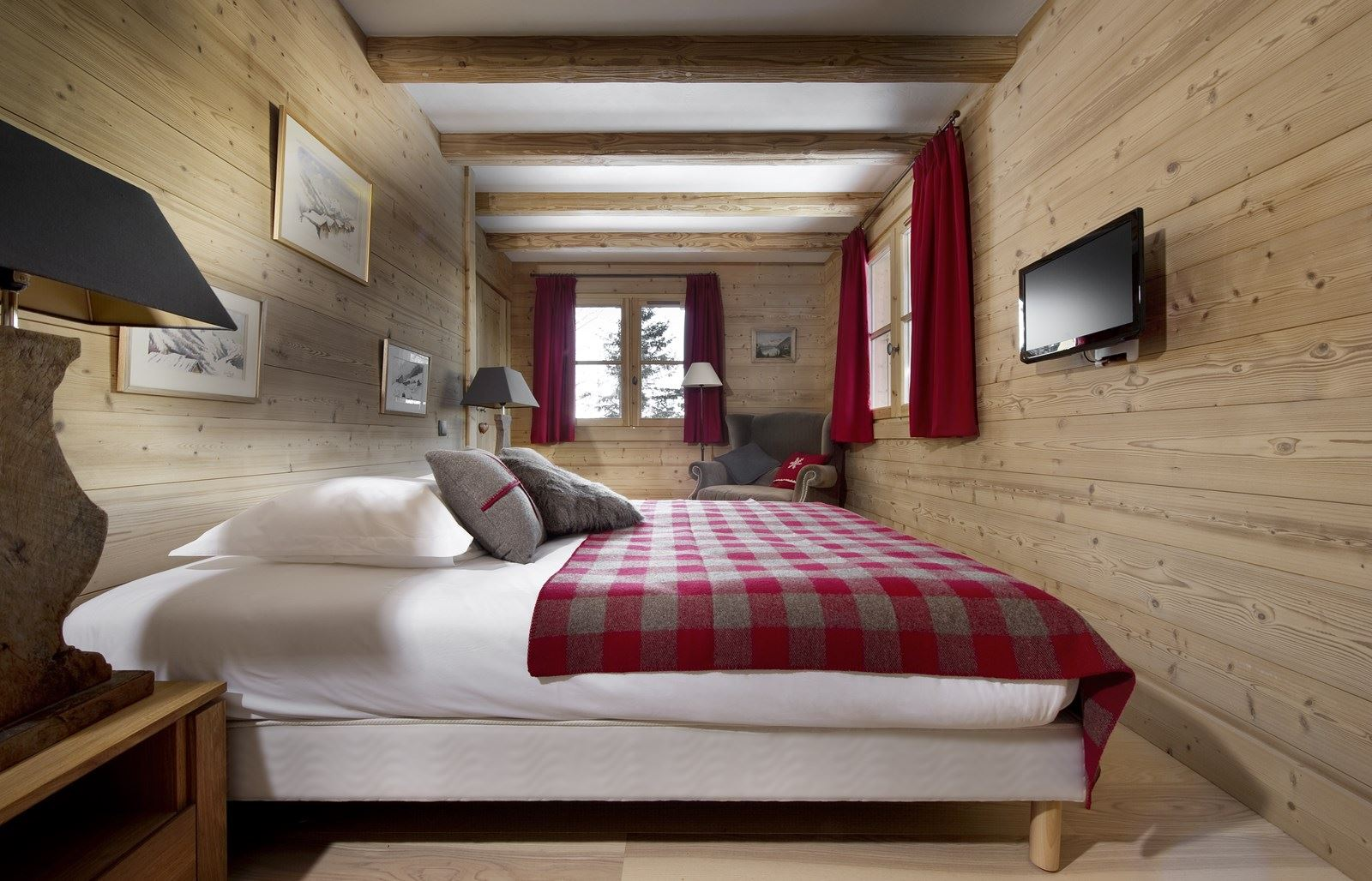 8 rooms 12 people / CHALET PETIT GREBIERS (mountain of dream)