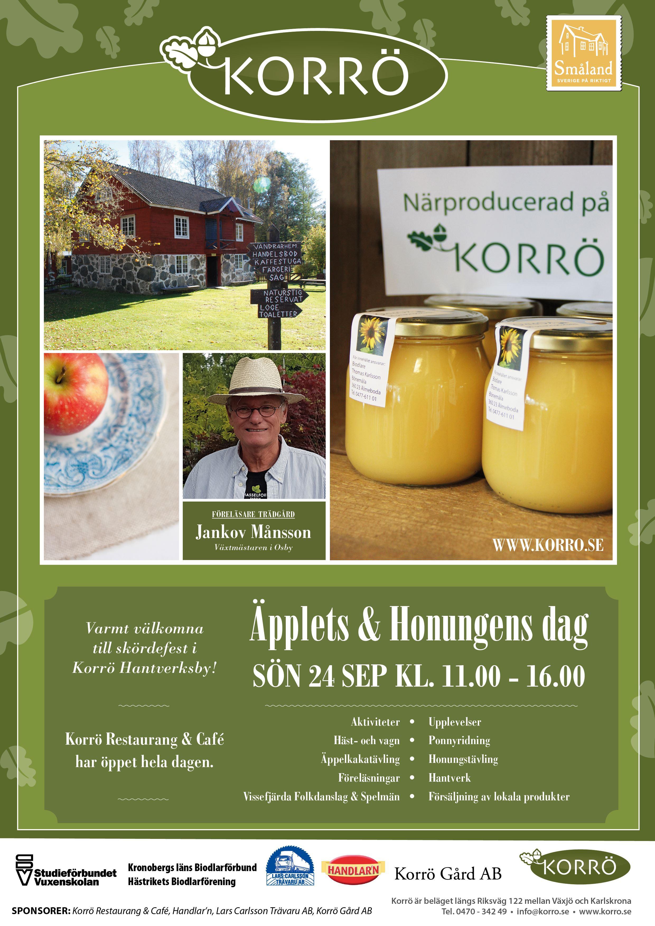 Äpplets & honungens dag på Korrö