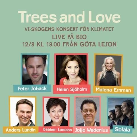 TREES & LOVE – EN HOPPFULL KONSERT FÖR KLIMATET