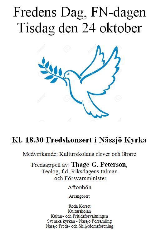Fredens dag, FN-dagen