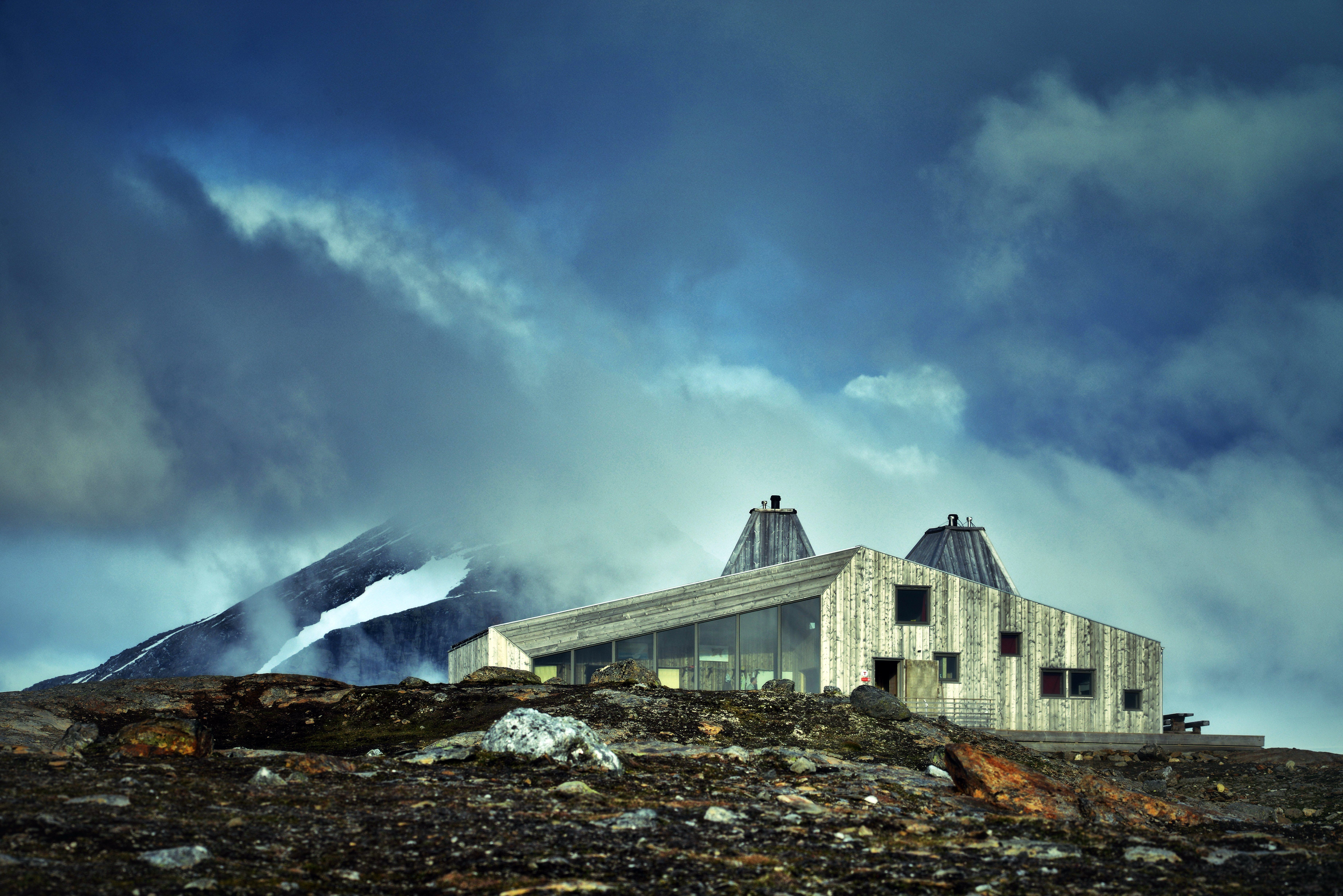 Rabothytta - på toppen av Nord-Norges tak