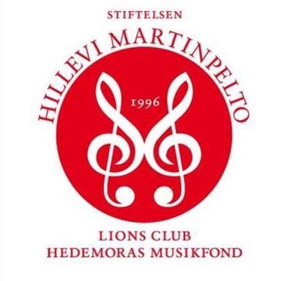 Hillevi Martinpelto Lions Club Hedemora Musikfond