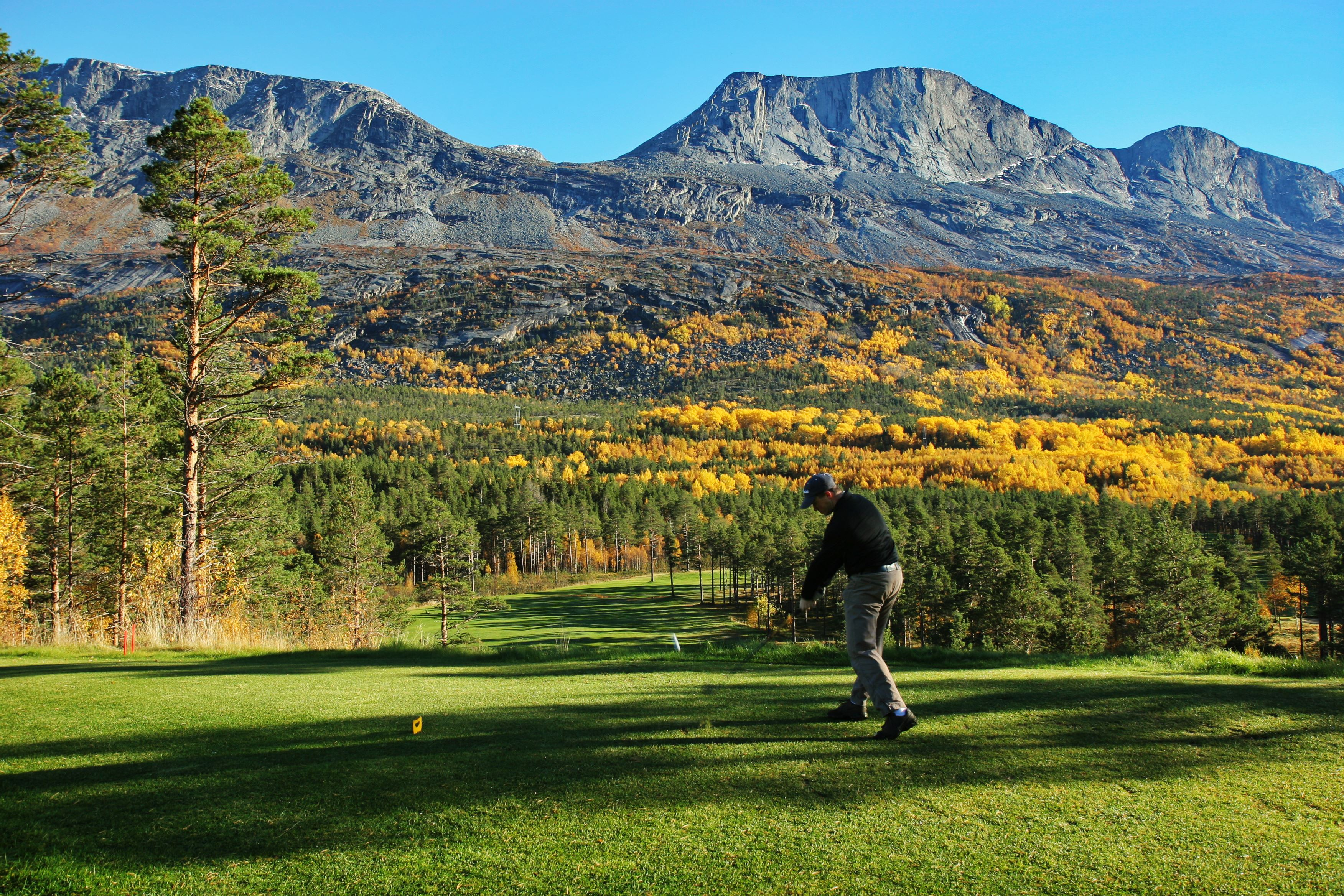 Narvik Golf Club - Skjomen Golf park