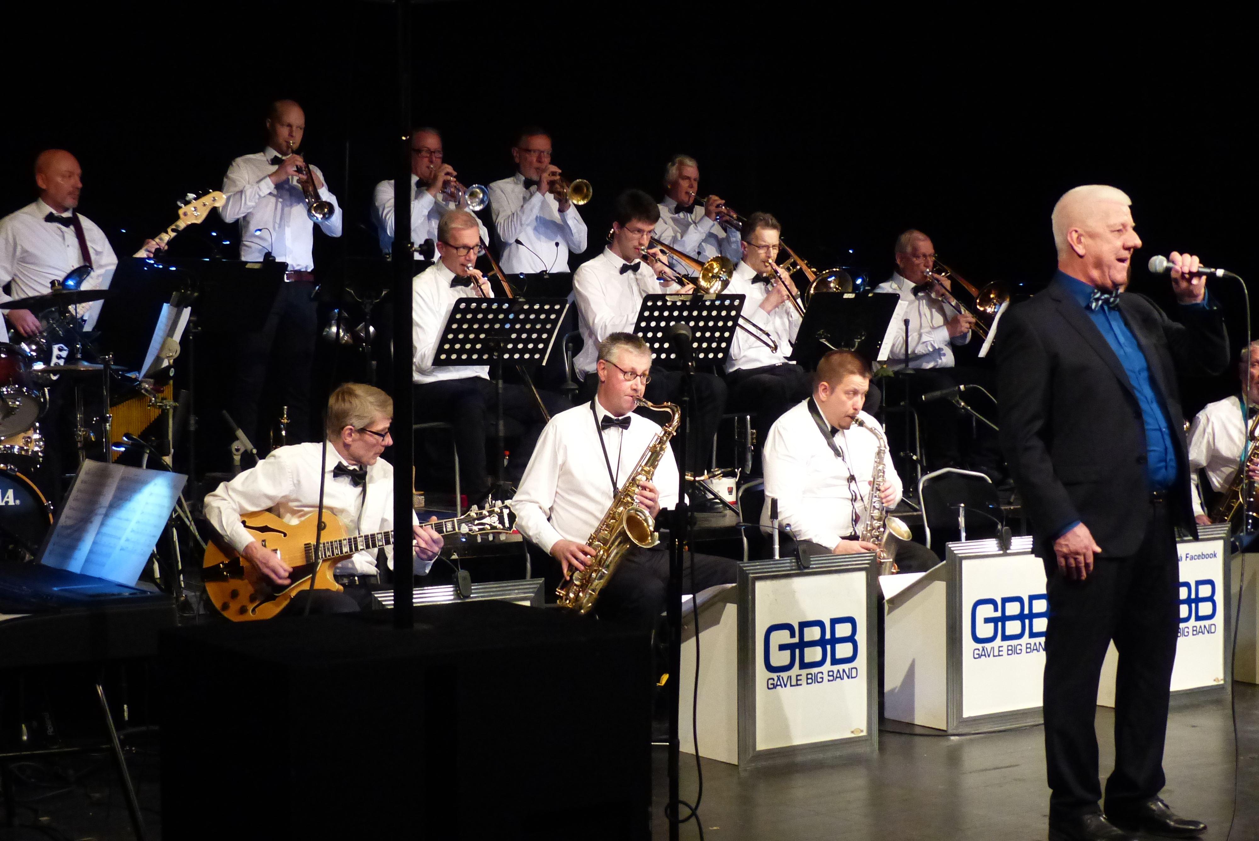 "Sinatrakväll med ""Svenne"" & Gävle Big Band"