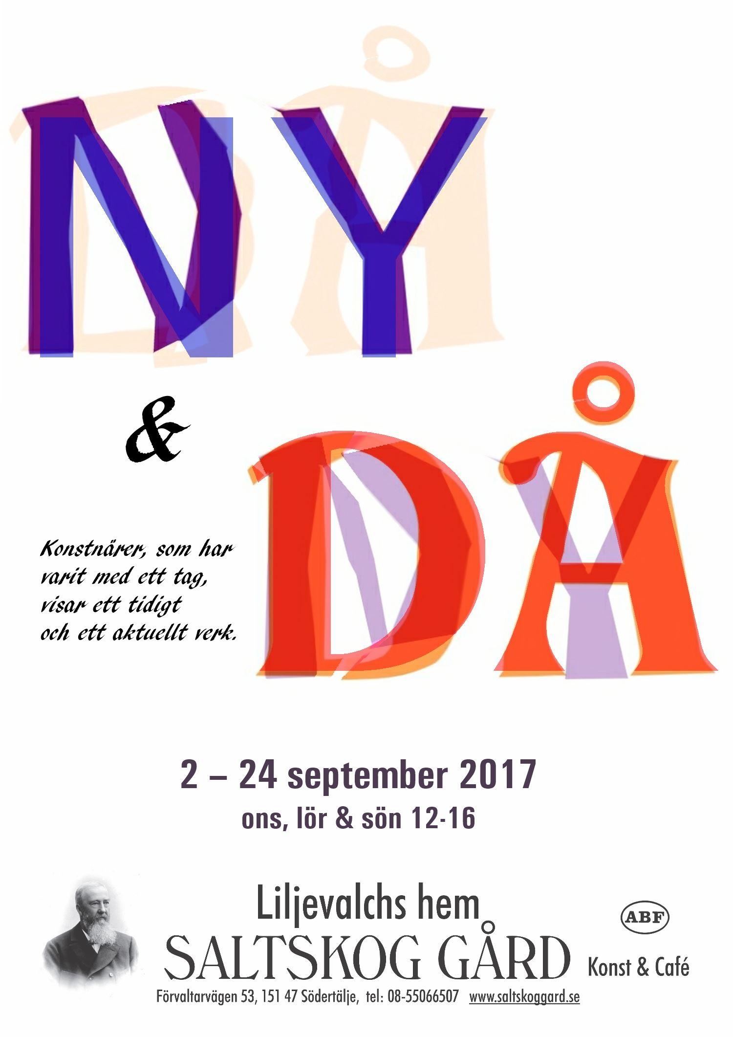 Utställning: Samling, NY och DÅ