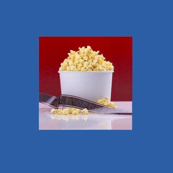 Påsklovsbio med popcorn
