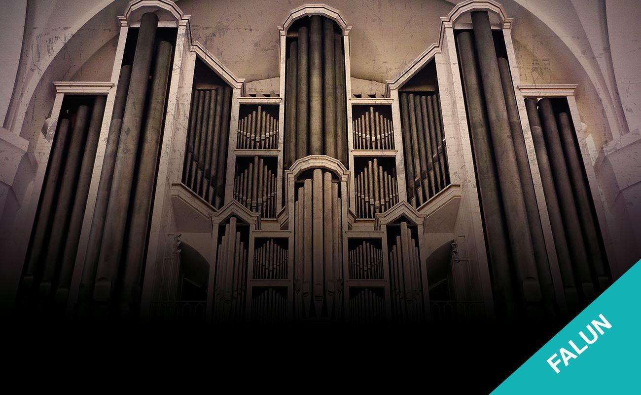 Orgel och mässing i samklang