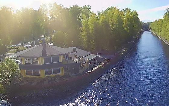 Majakka-Paviljonki / Kanavalahtis harbour