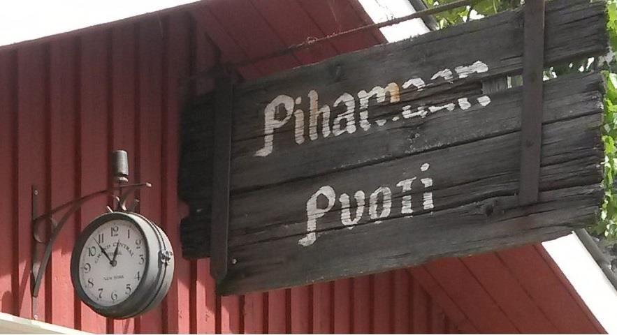 Viini- ja puutarhatila Pihamaa