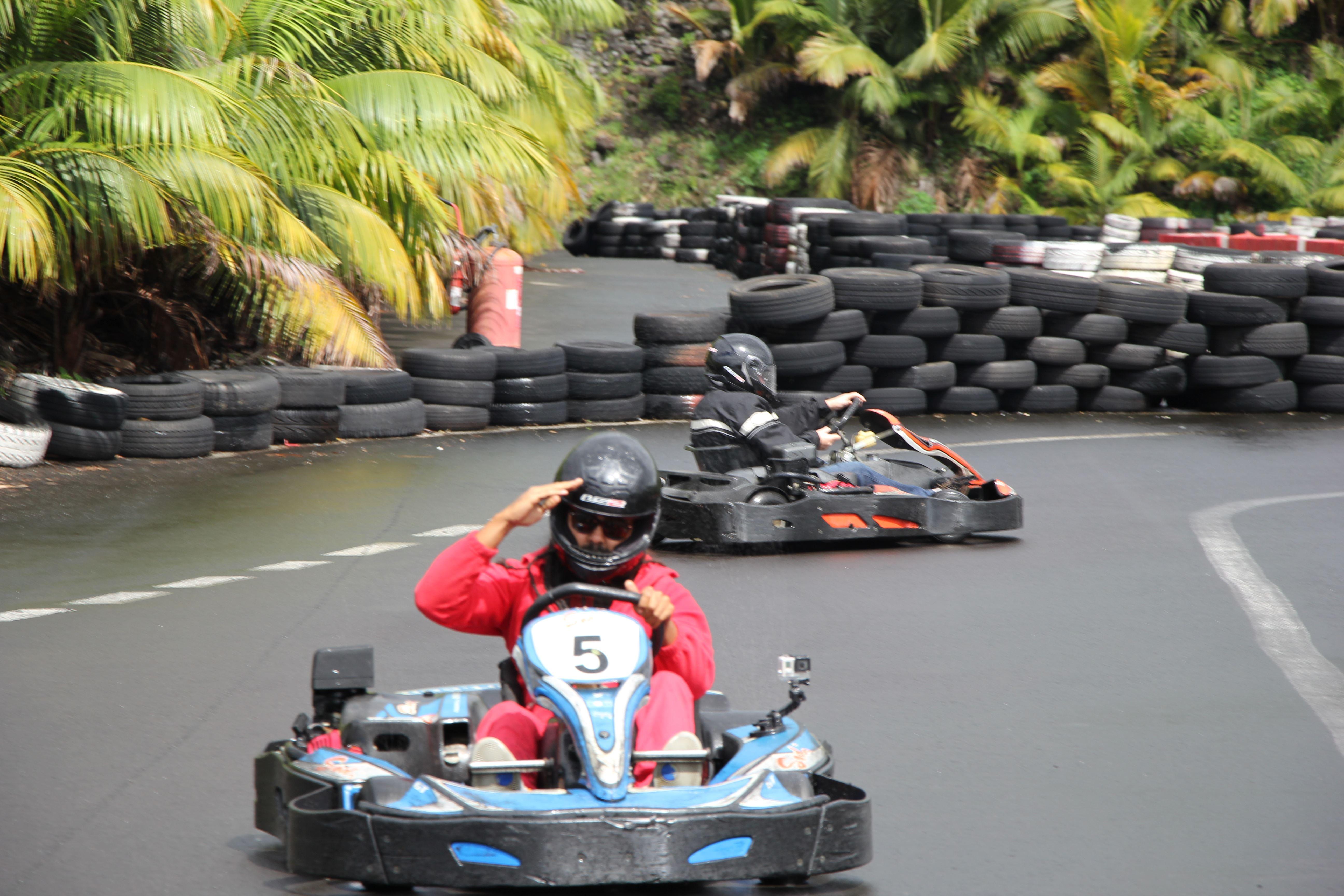 5,4,3,2,1... Go! Go-karting challenge