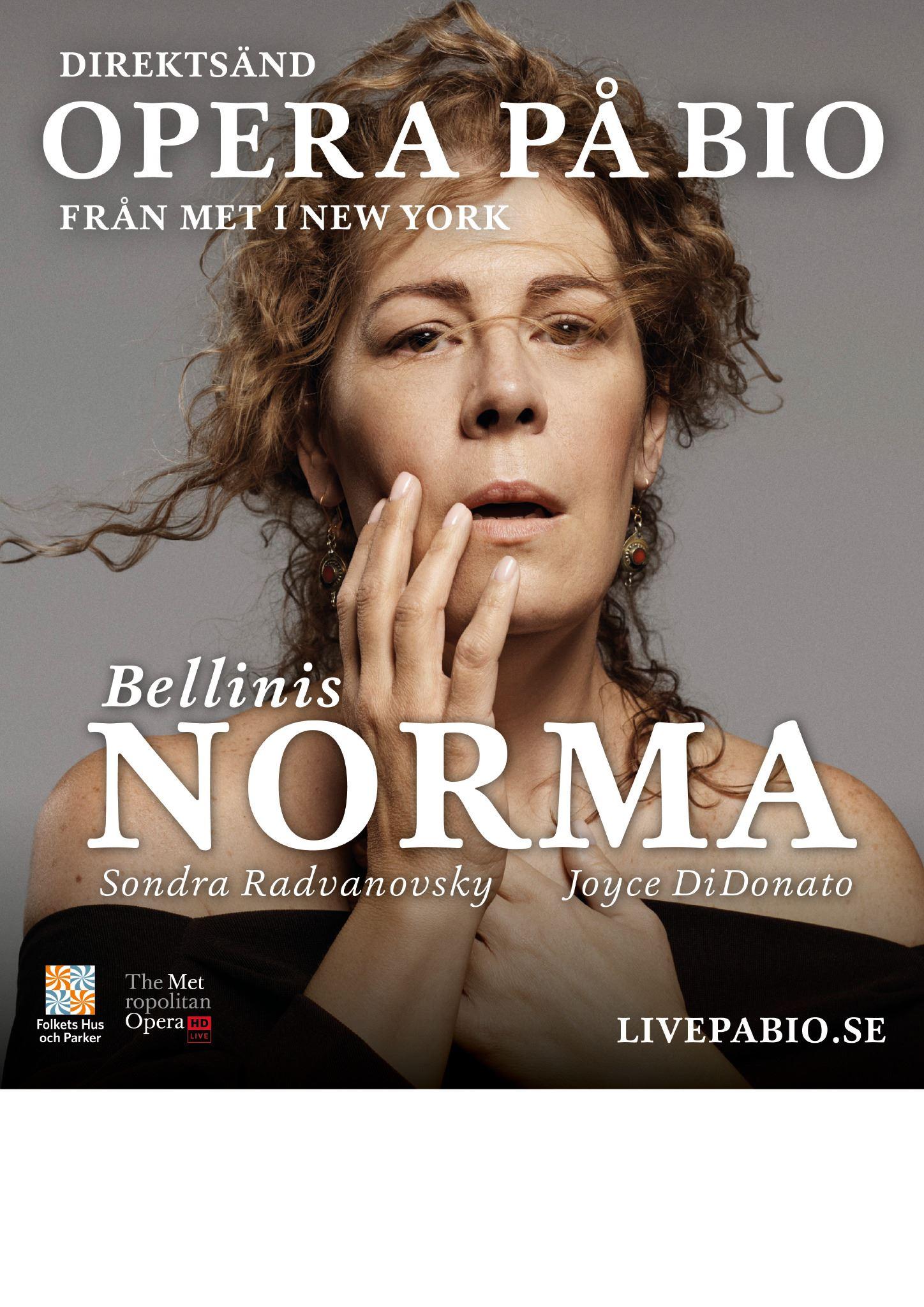 Livesänd Opera - Norma