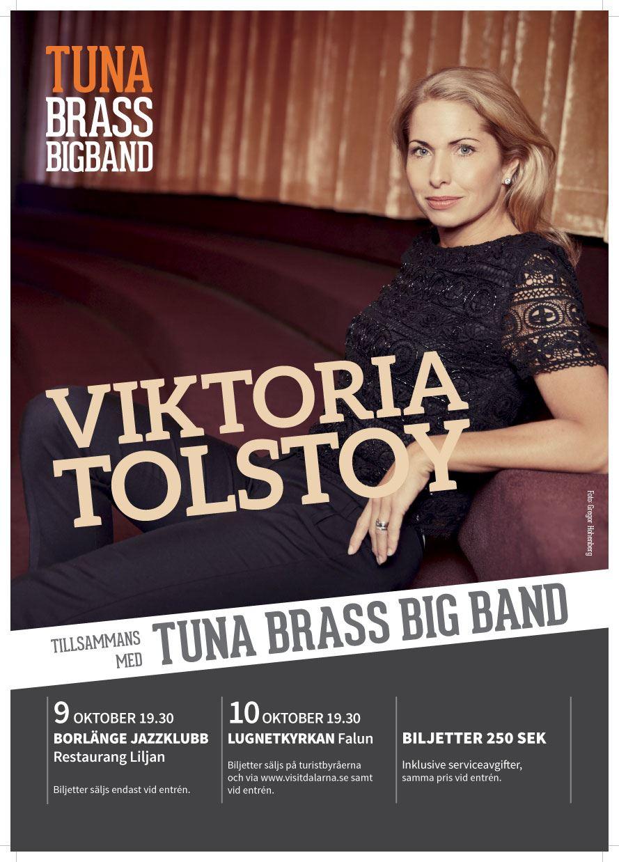 Viktoria Tolstoy med Tuna Brass Big Band
