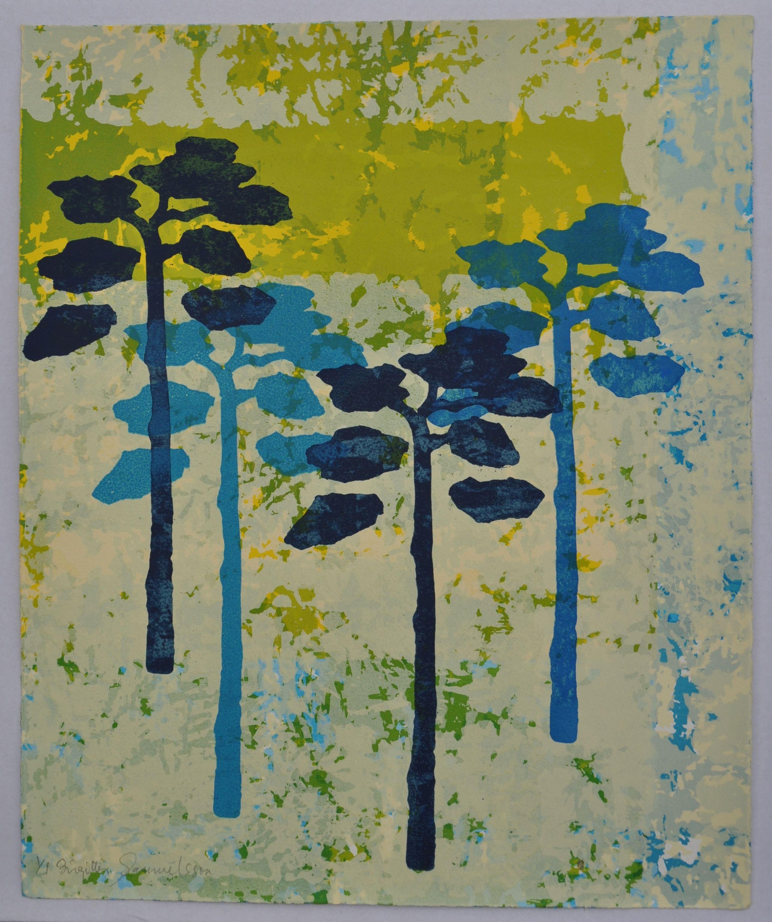 """Utställning: Birgitta Samuelsson, """"Mina hav"""", måleri och grafik  14 oktober – 5 november"""