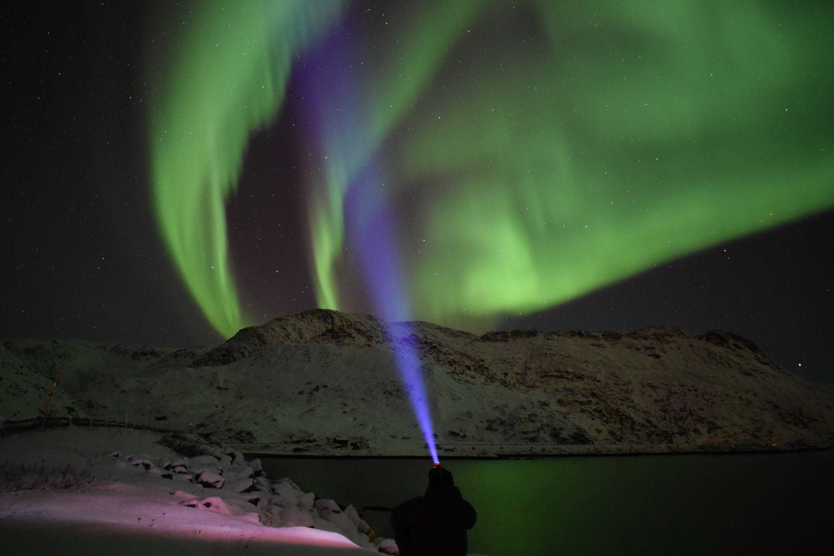 Northern Lights chase to Nordkapp
