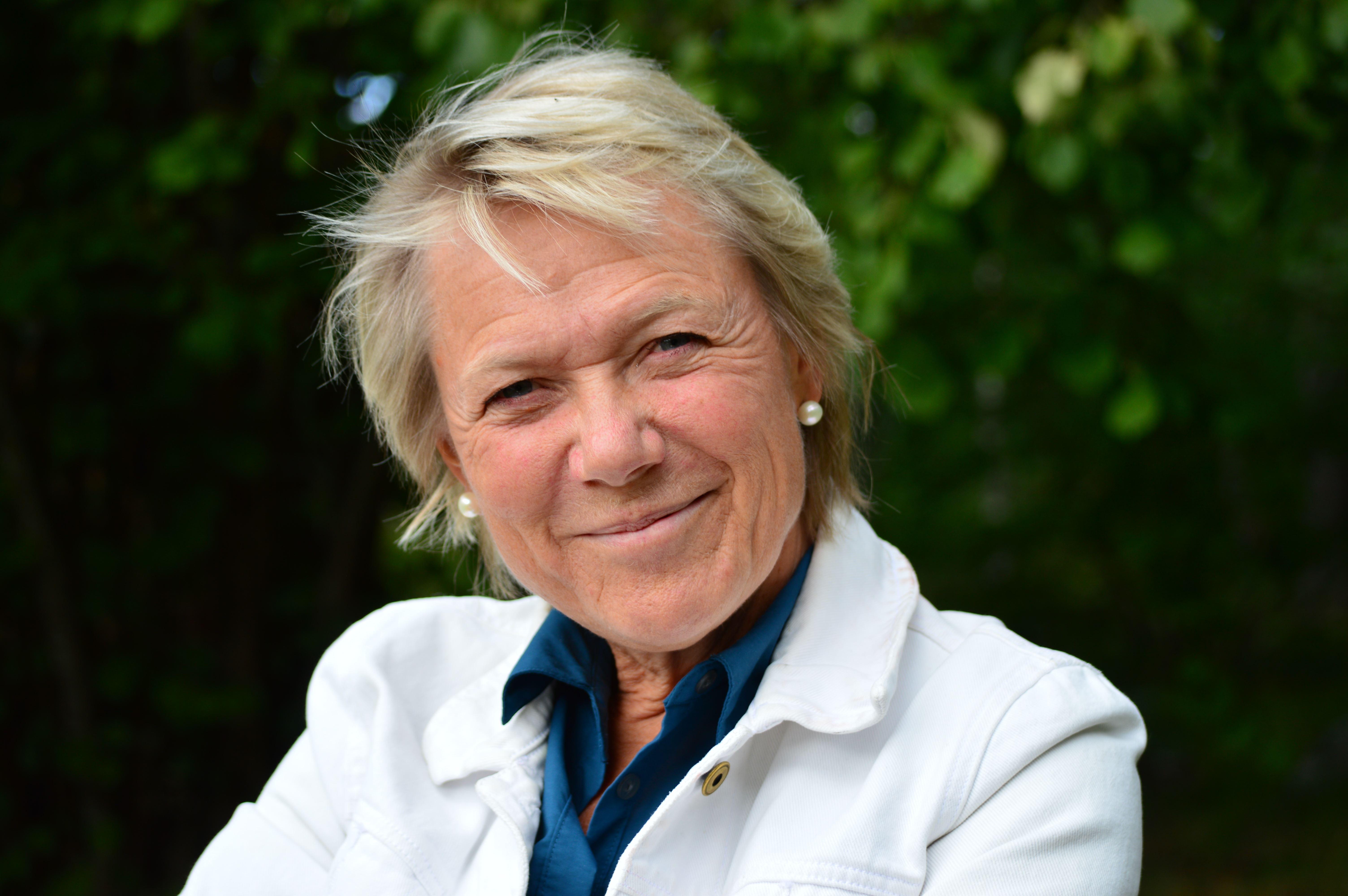 Agneta Lagercrantz på Hagaberg