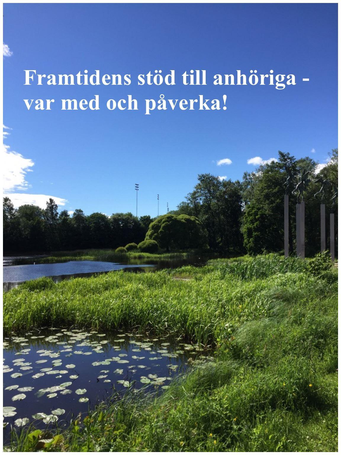 Framtidens stöd till anhöriga- hur utvecklar vi det i Gävle Kommun?