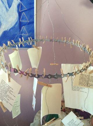 Fristadsmobilen: en vandrande och inter-aktiv konstinstallation med poesi