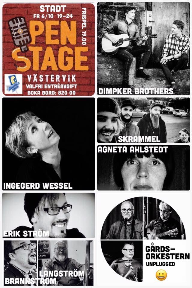 Open Stage på Västerviks Stadshotell