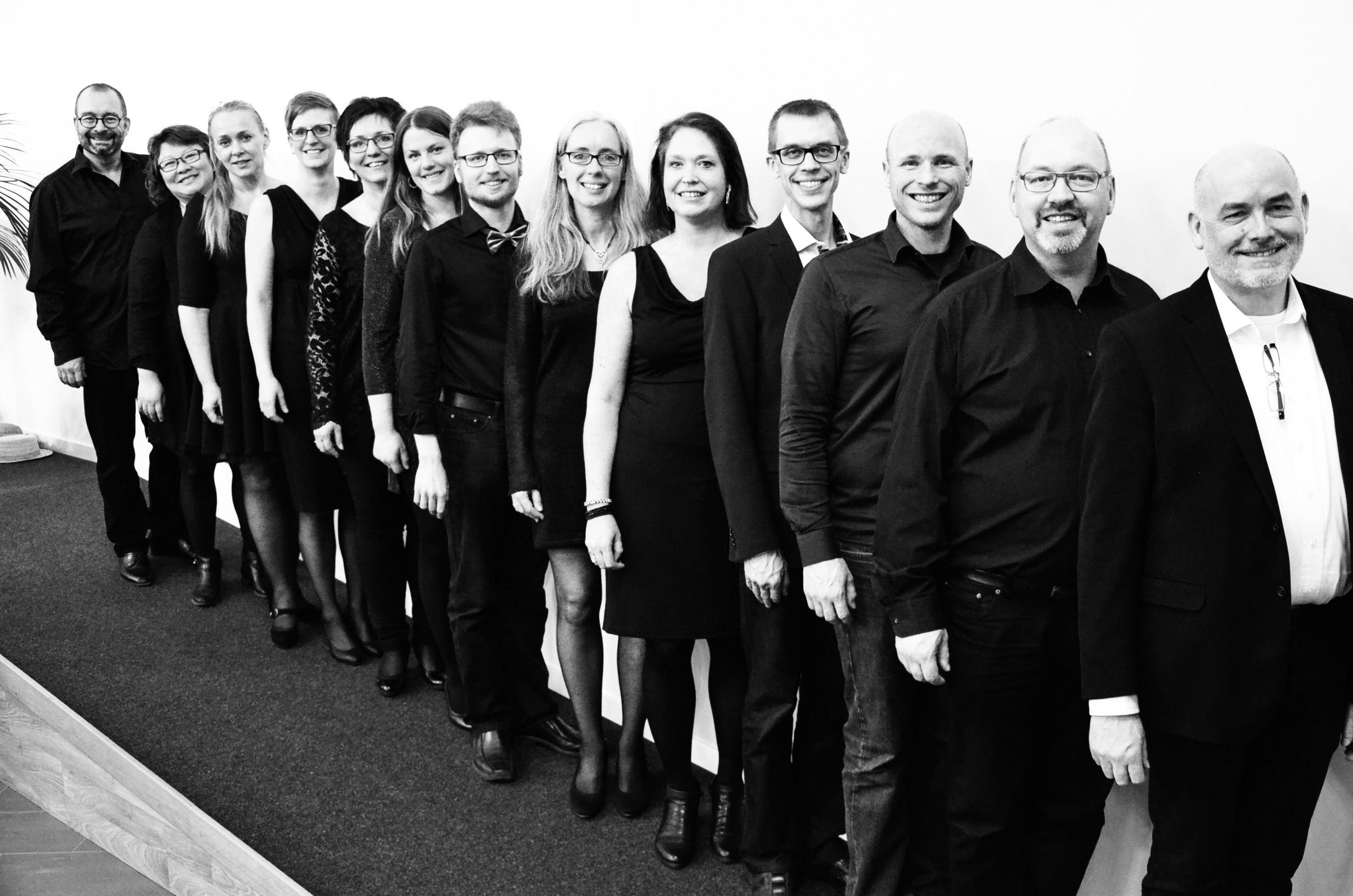 Vokalensemblen Vox Magica presenterar: Från Småland till Savannen
