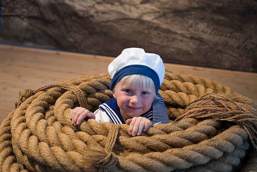 Sunday fun at the Naval Musuem