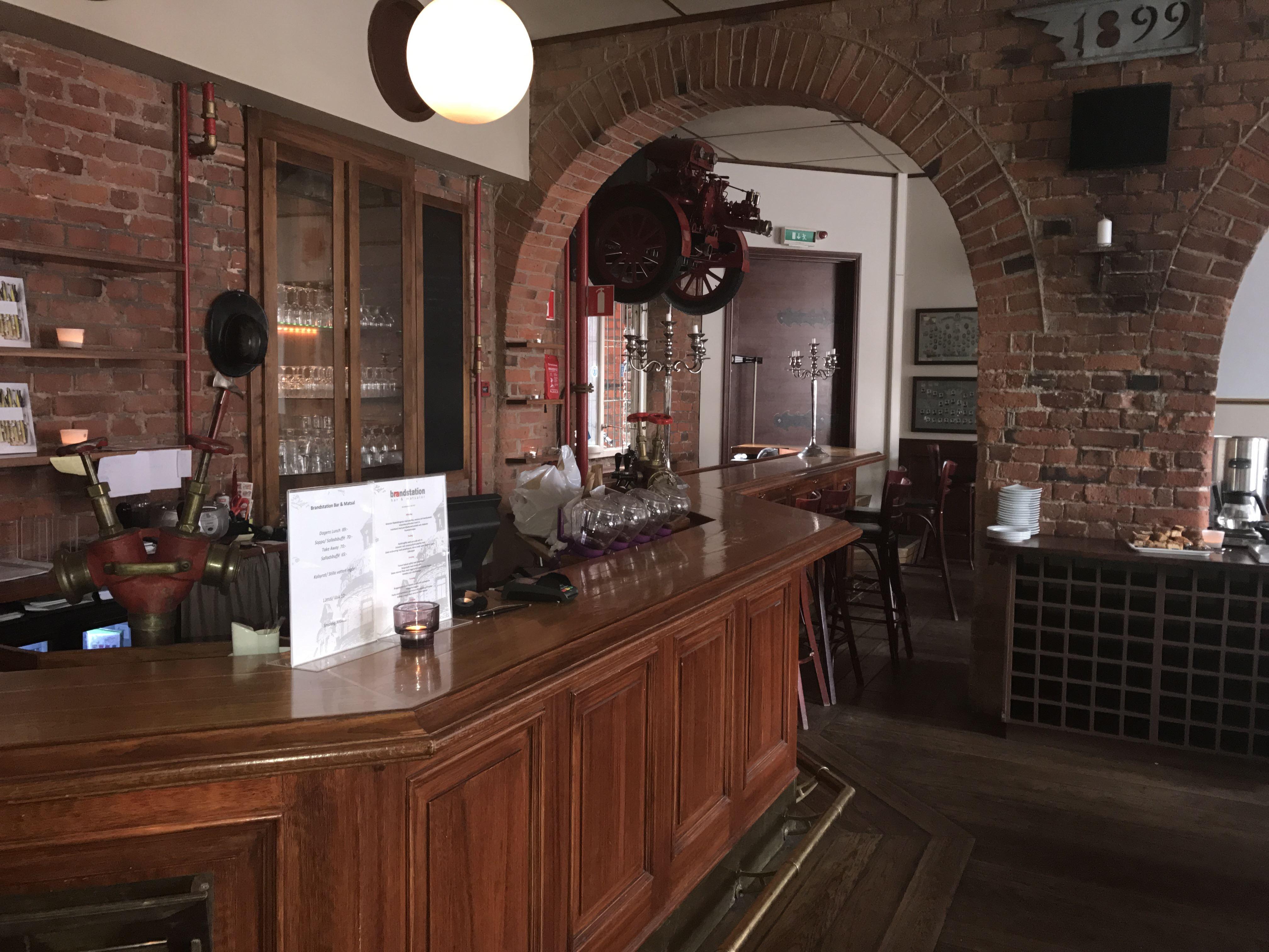 Brandstation Bar & Matsalar
