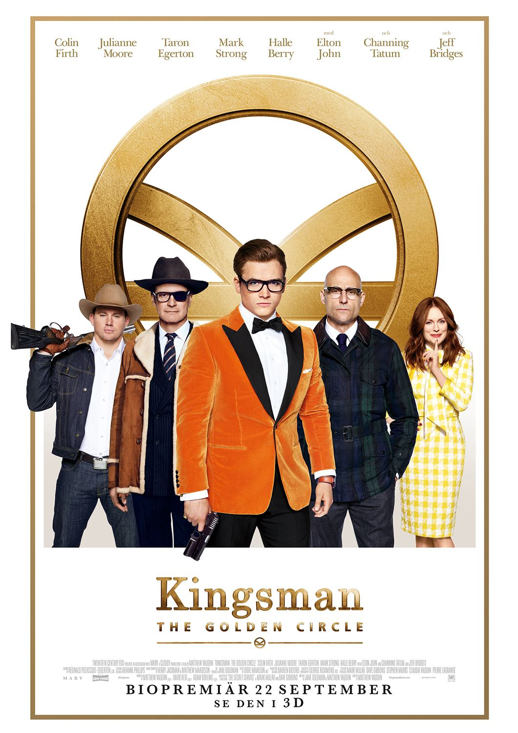 Bio: Kingsman: The Golden Circle