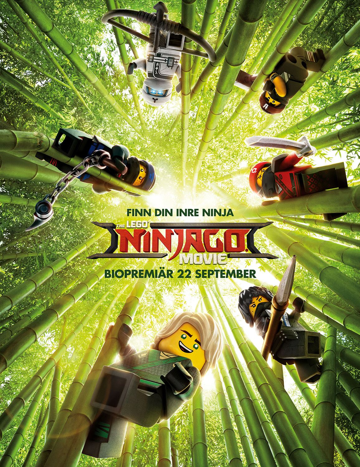Kultur- och höstlovsbio: The Lego: Ninjago Movie