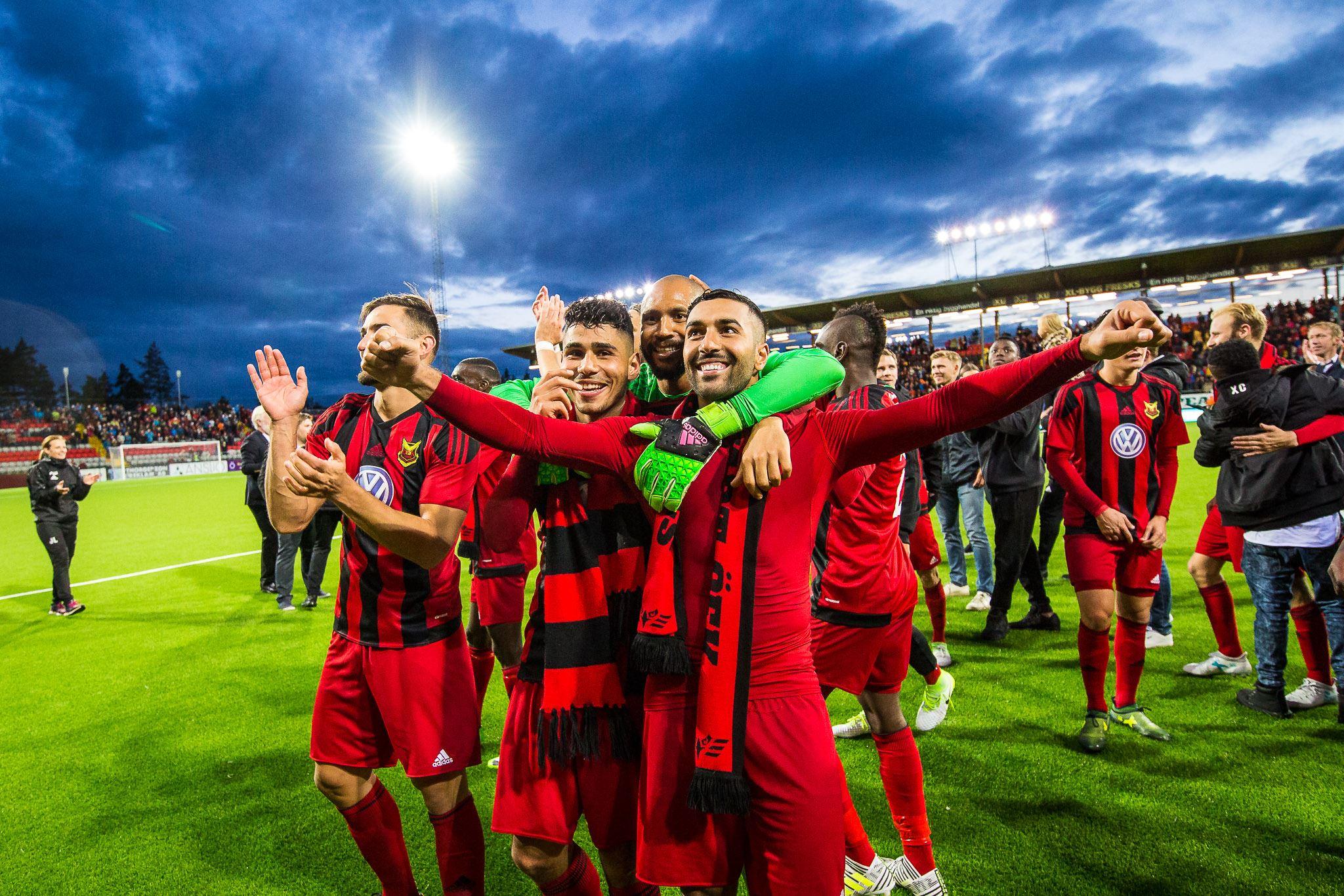 Foto: Johan Axelsson ÖFK,  © Copy: Johan Axelsson, Europa League Östersunds FK - FK Zorja Luhansk