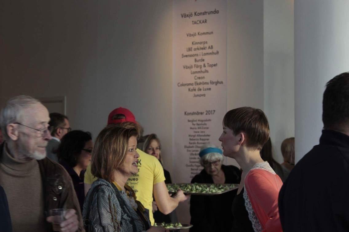 Visning av aktuella utställningar