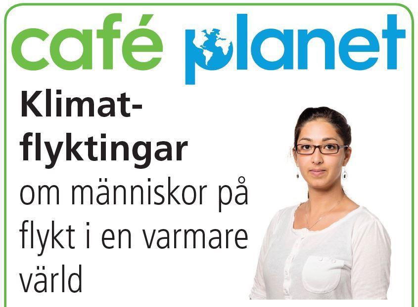 © Studiefrämjandet, Café Planet - Klimatflyktingar