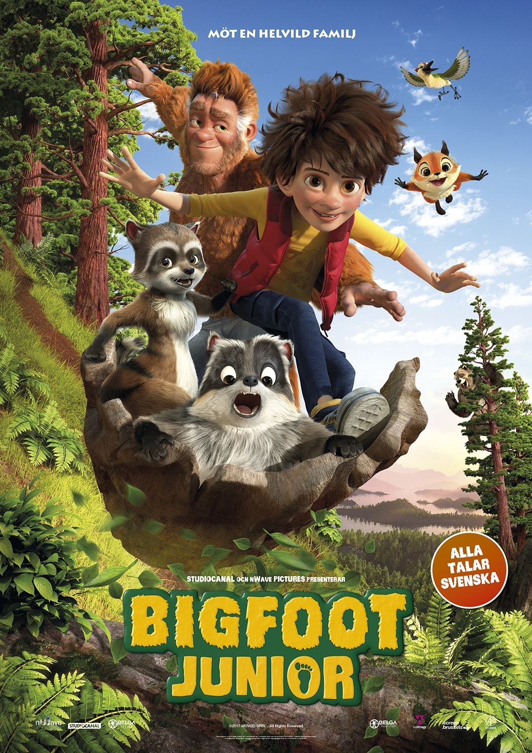 Filmettan presenterar: Bigfoot Junior