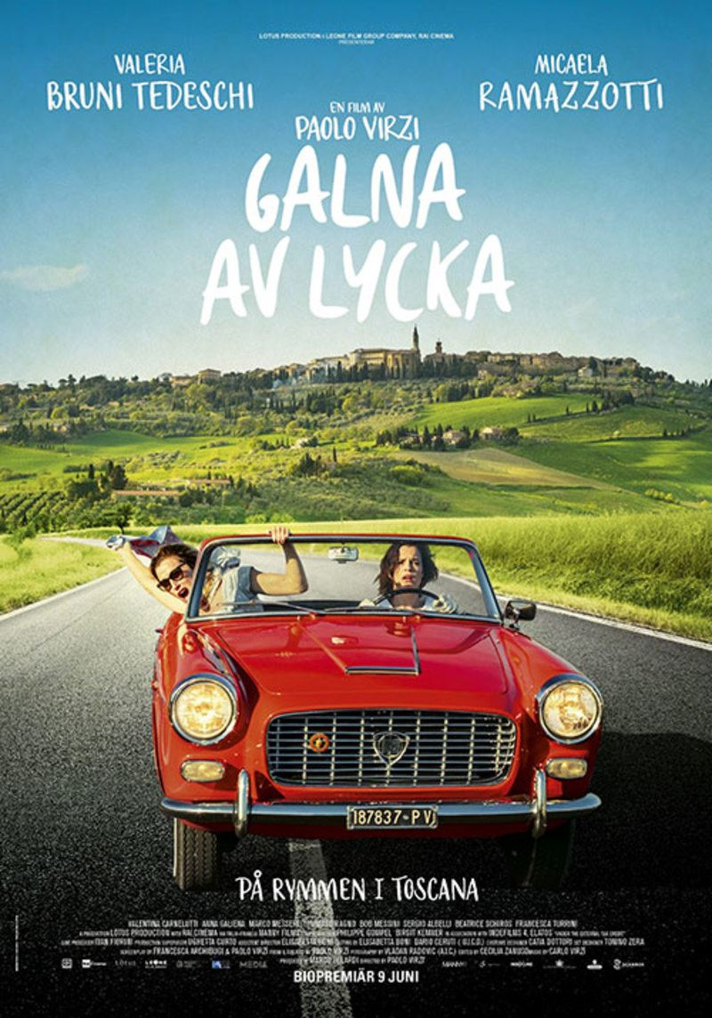 Bio: Galna av lycka - På rymmen i Toscana