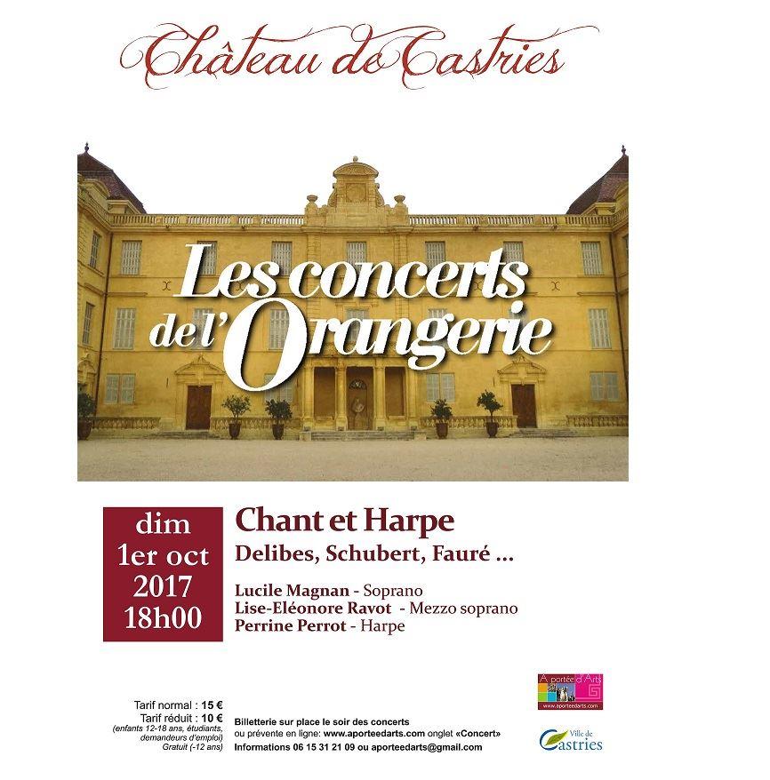 Concerts de l'Orangerie - Songes et mystères