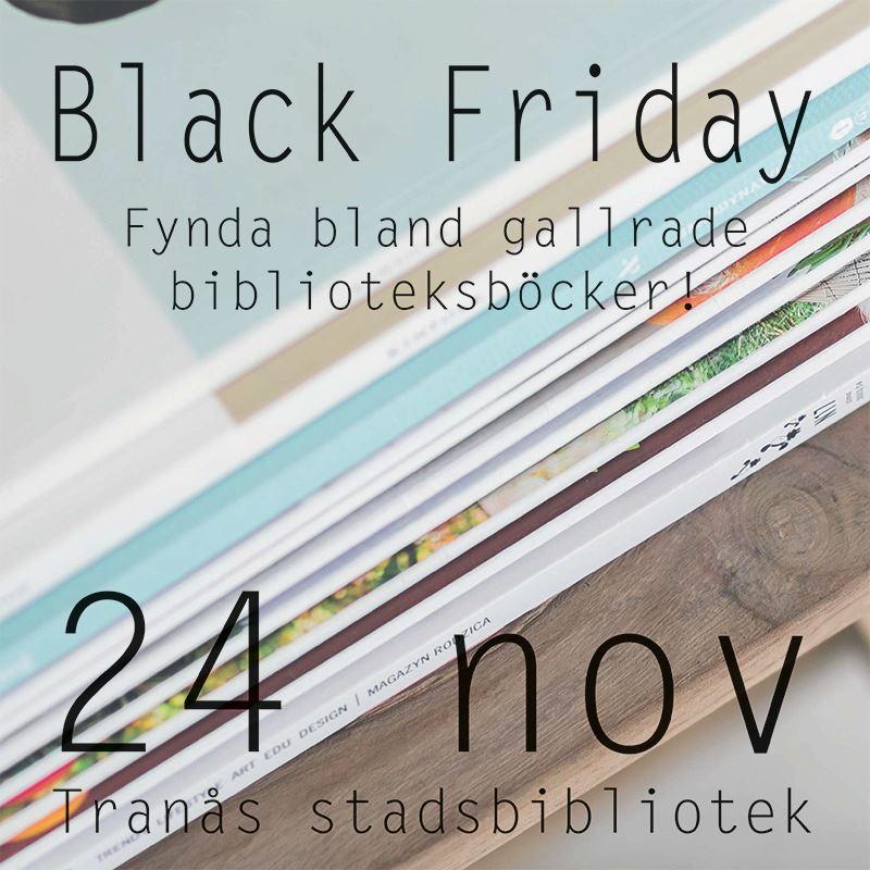 Black Friday på bibblan