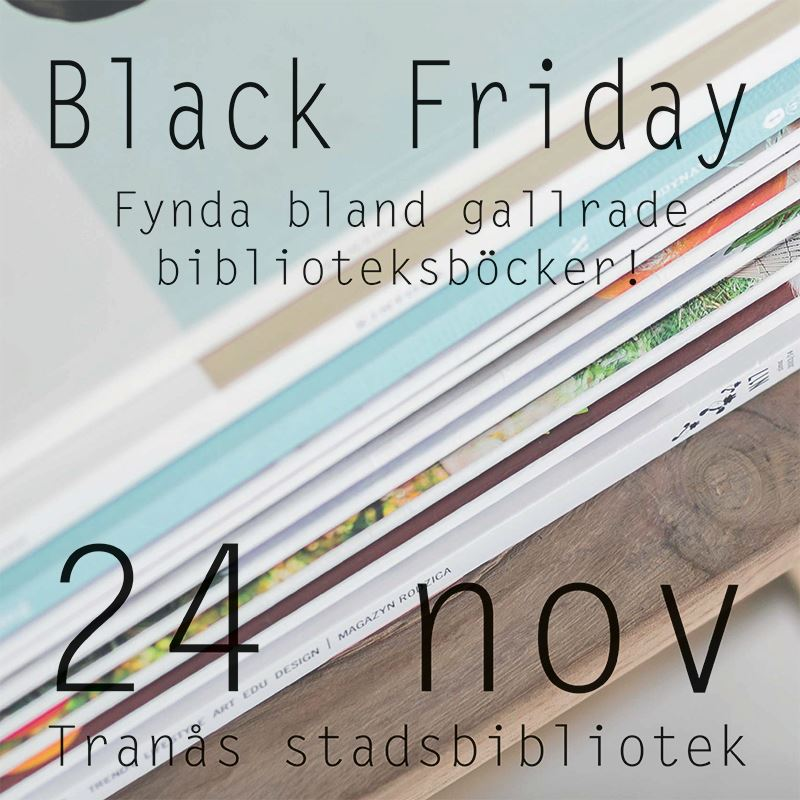 Black Friday på bibblan