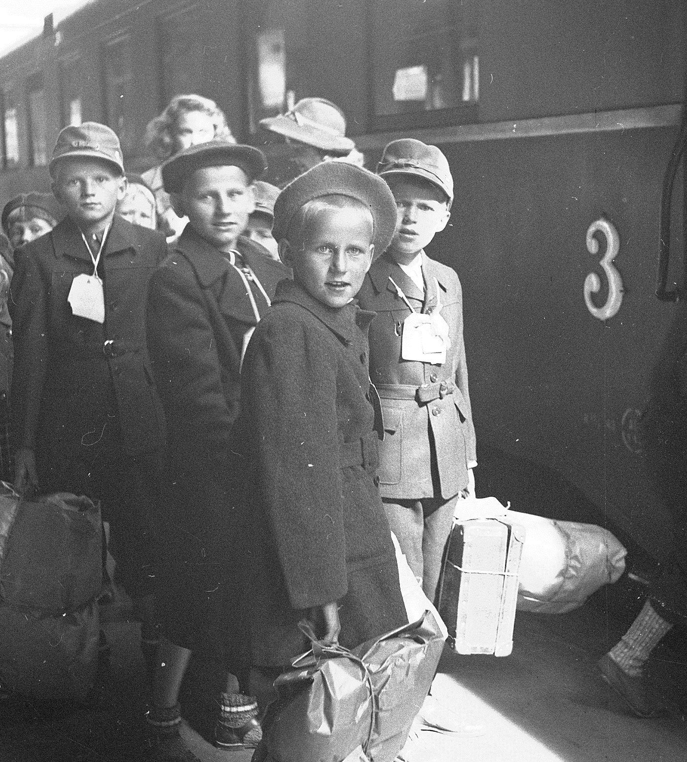 Finska krigsbarn i Gävleborg