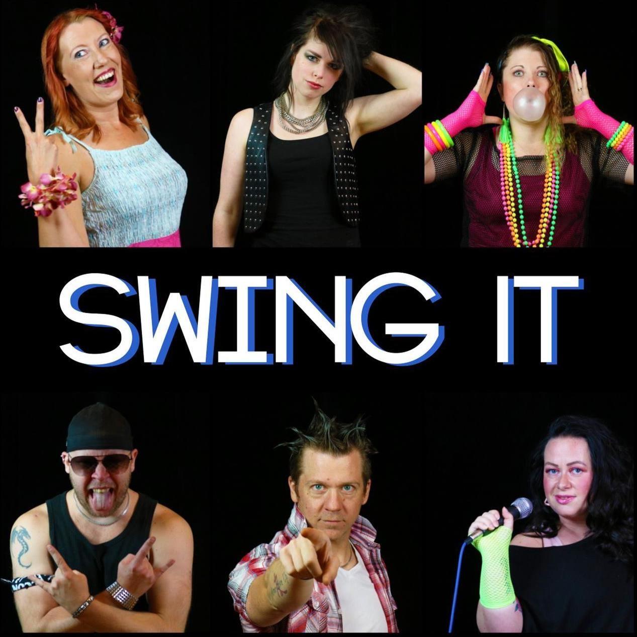 Musikquiz med showgruppen Swing It