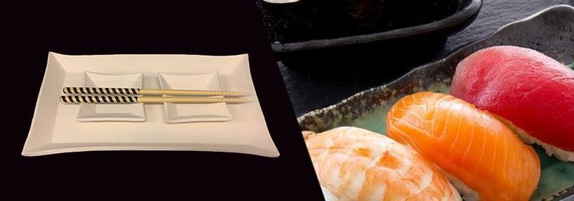 Japansk kväll med sushi och keramikmålning