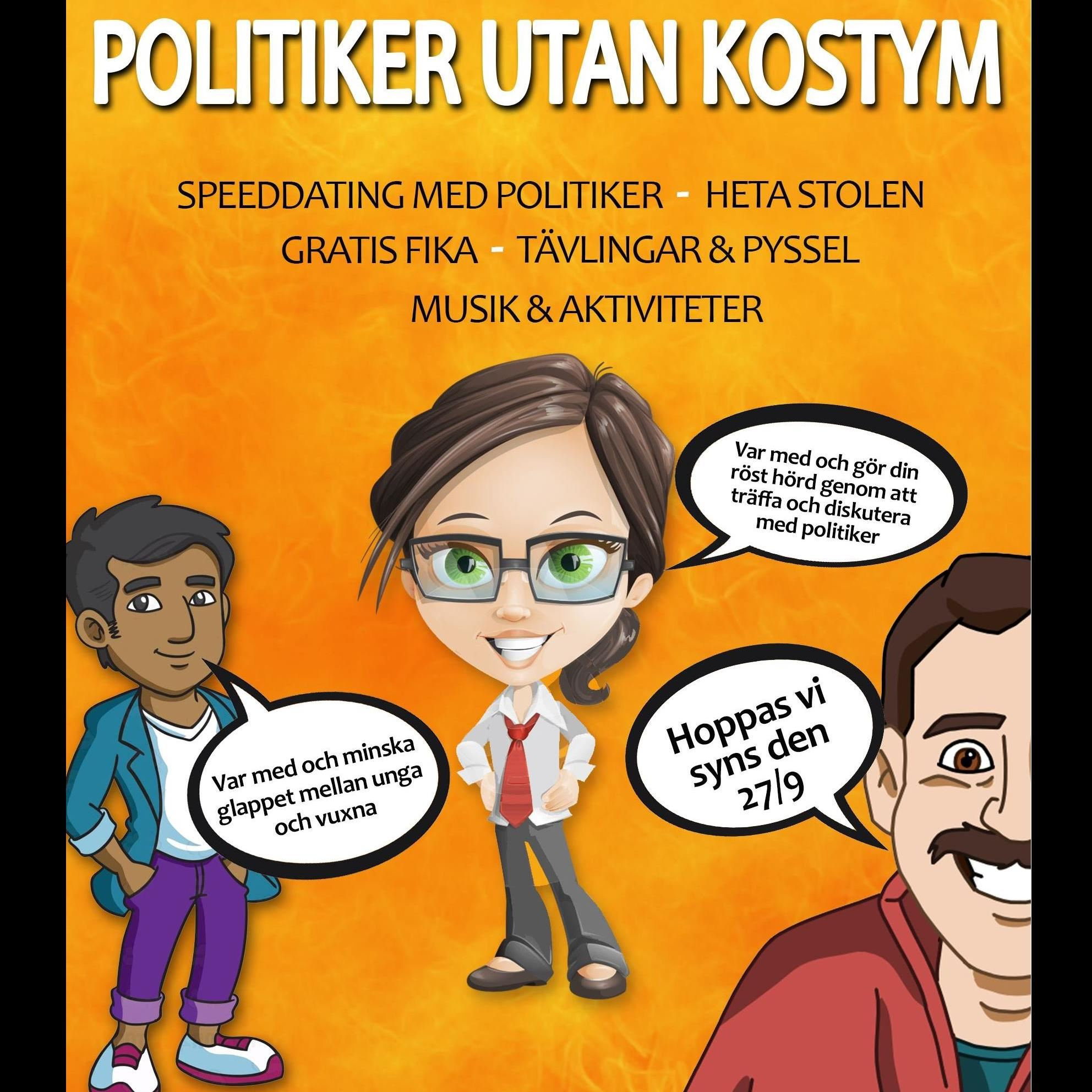 Politiker utan kostym