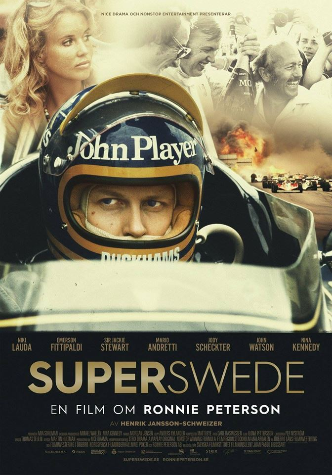 Folkets Hus Bio: Superswede - en film om Ronnie Peterson