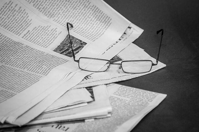Tidningsurklipp från 50 år